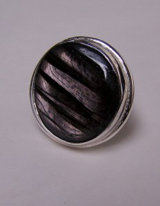Hipersztén kerek gyűrű